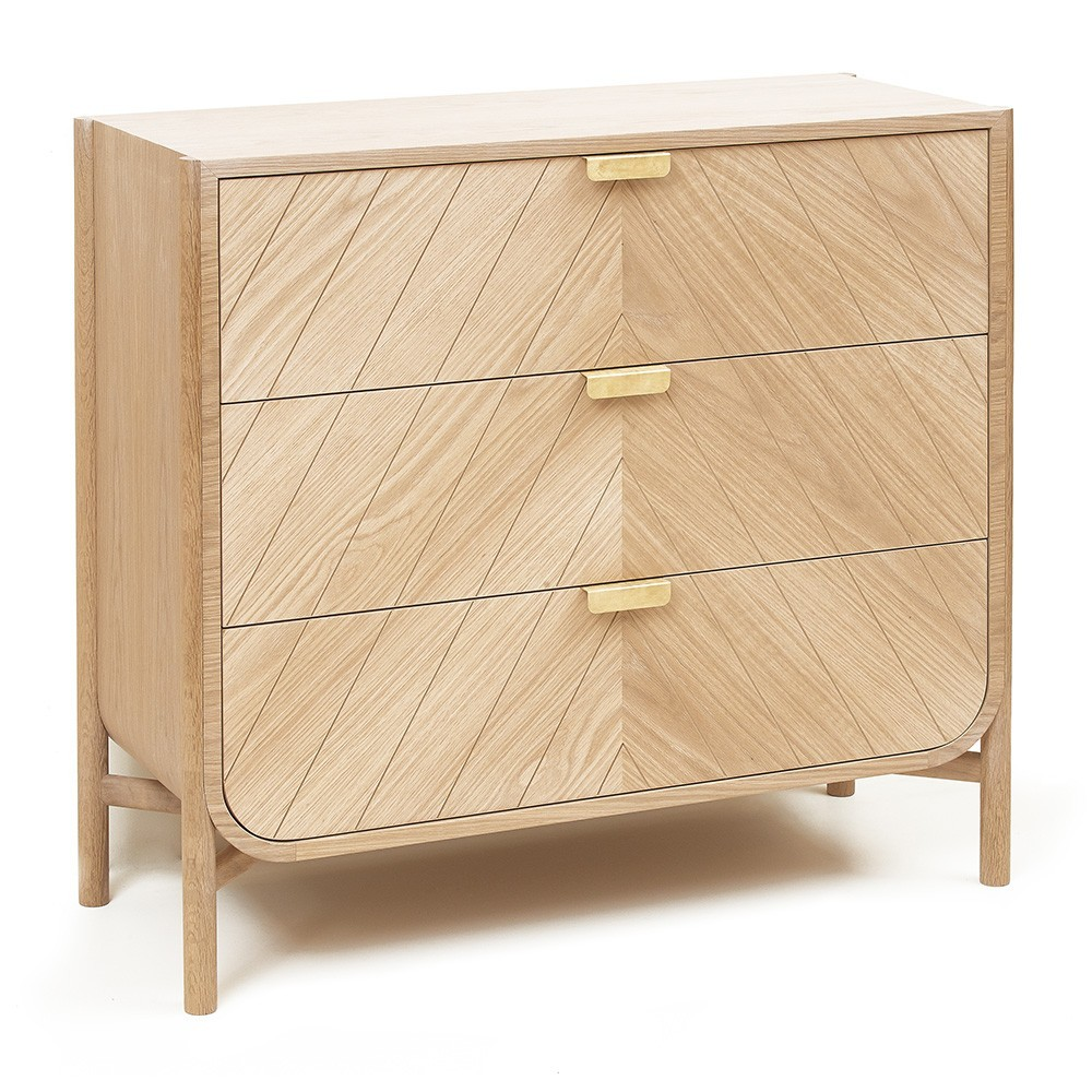 Marius wardrobe natural oak Hartô