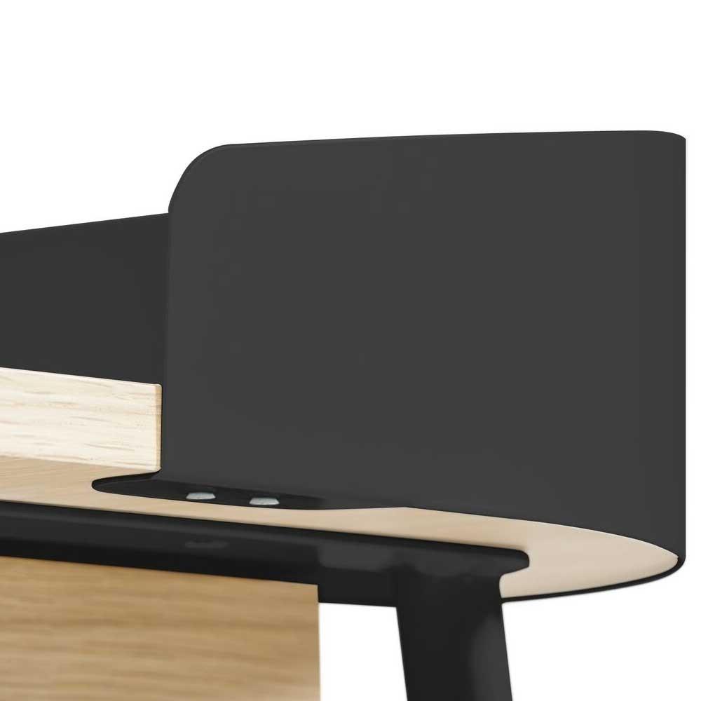 Victor desk slate grey Hartô