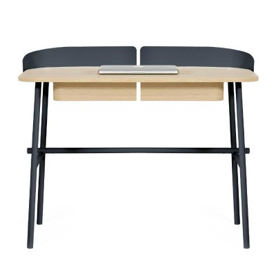 Victor desk slate grey
