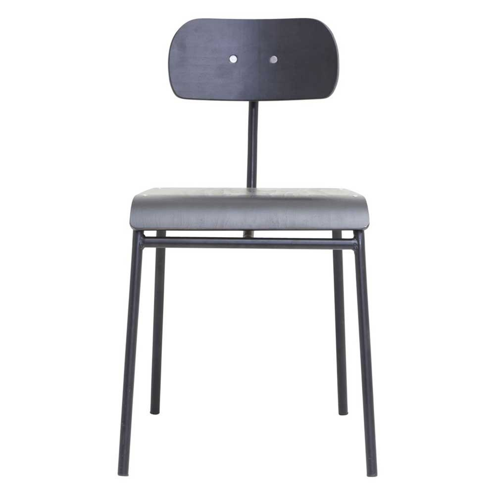 School dining chair black House Doctor