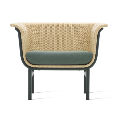 Wicked lounge armchair natural