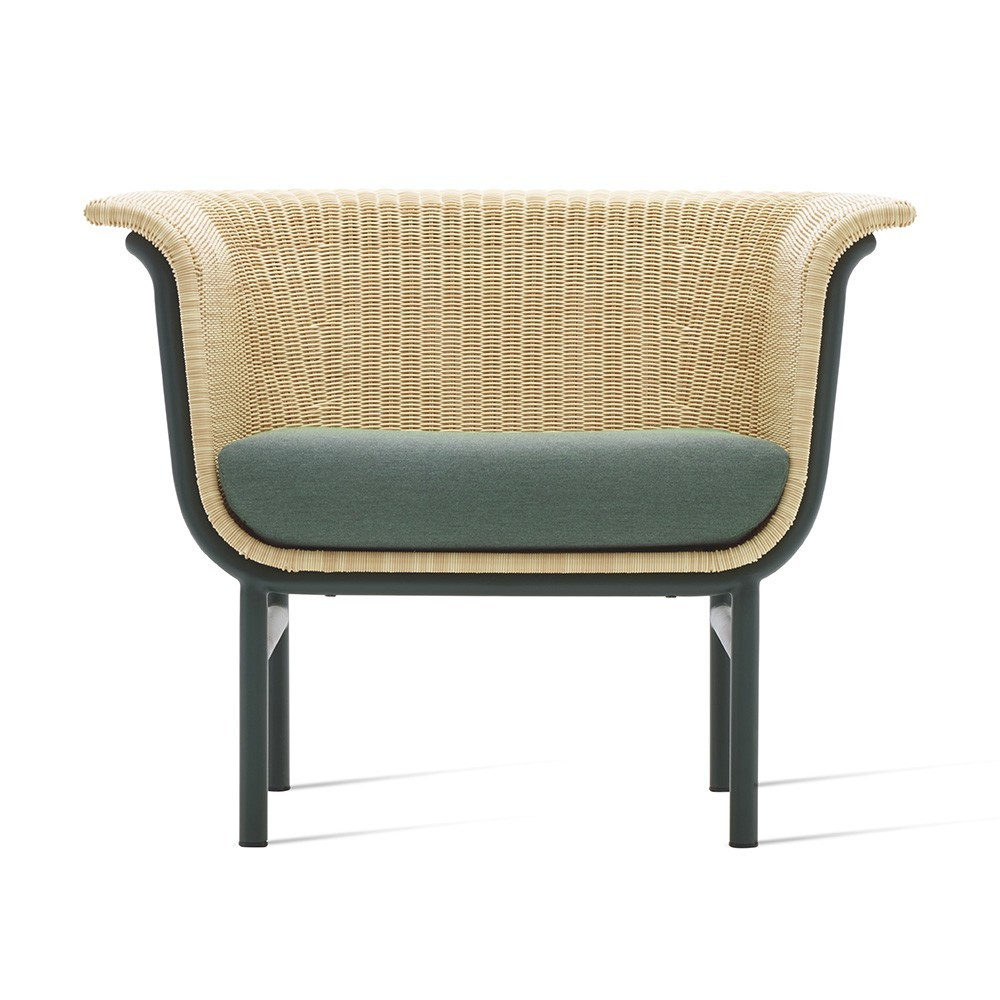 Fauteuil Wicked lounge naturel Vincent Sheppard