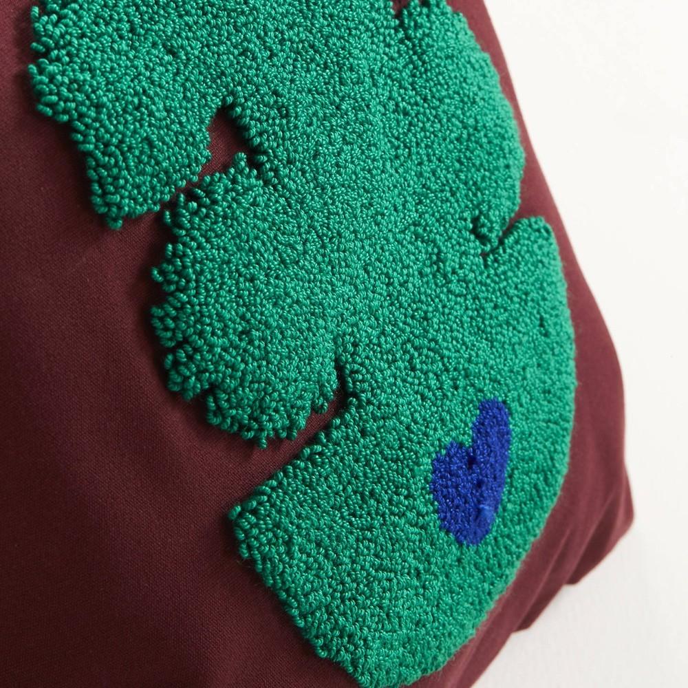 Cuscino Nido Queztal terracotta ames