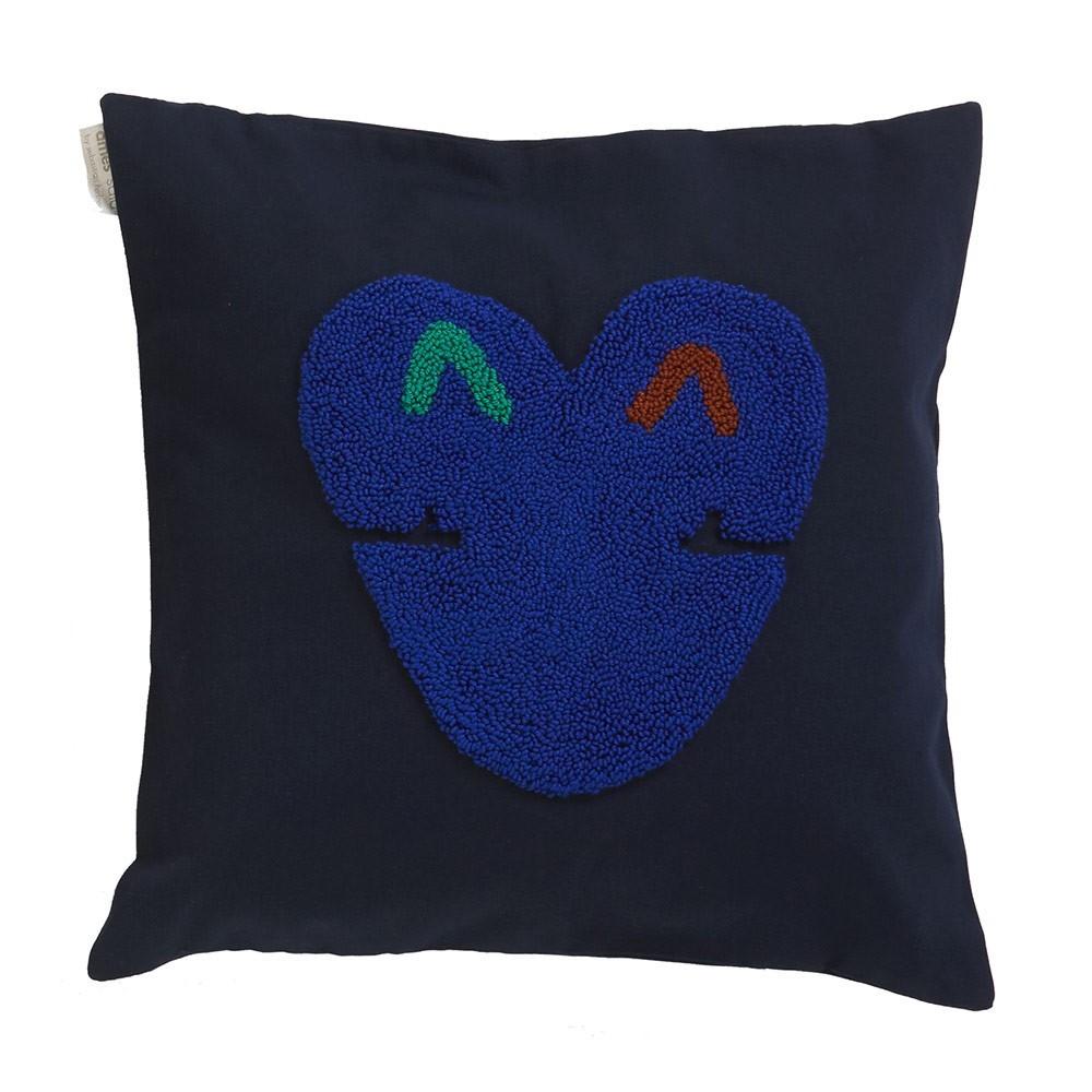 Kussen Nido Kukuy nachtblauw ames