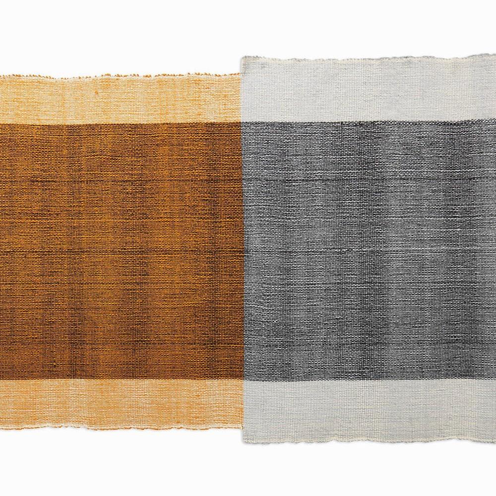 Nobsa rug S grey/ochre/cream ames