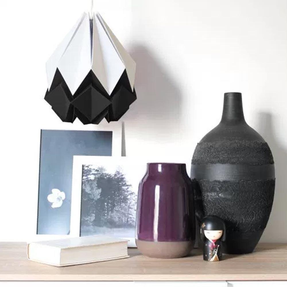Hangende hanahi wit met kleur Tedzukuri Atelier