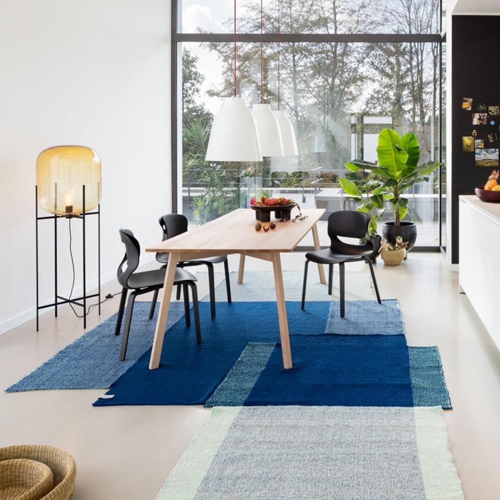 Nobsa rug S blue/mint/cream ames