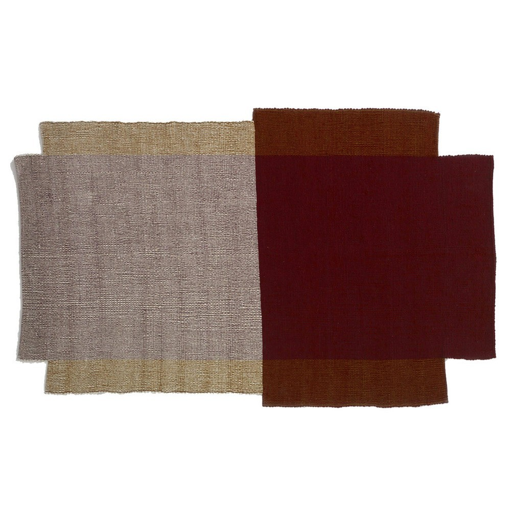 Nobsa rug S red/ochre/cream ames