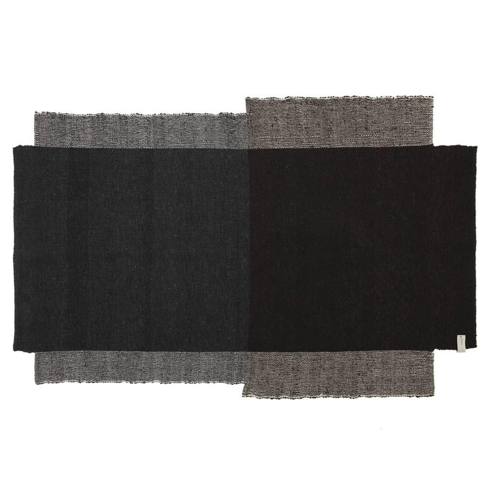 Nobsa rug S grey/brown ames