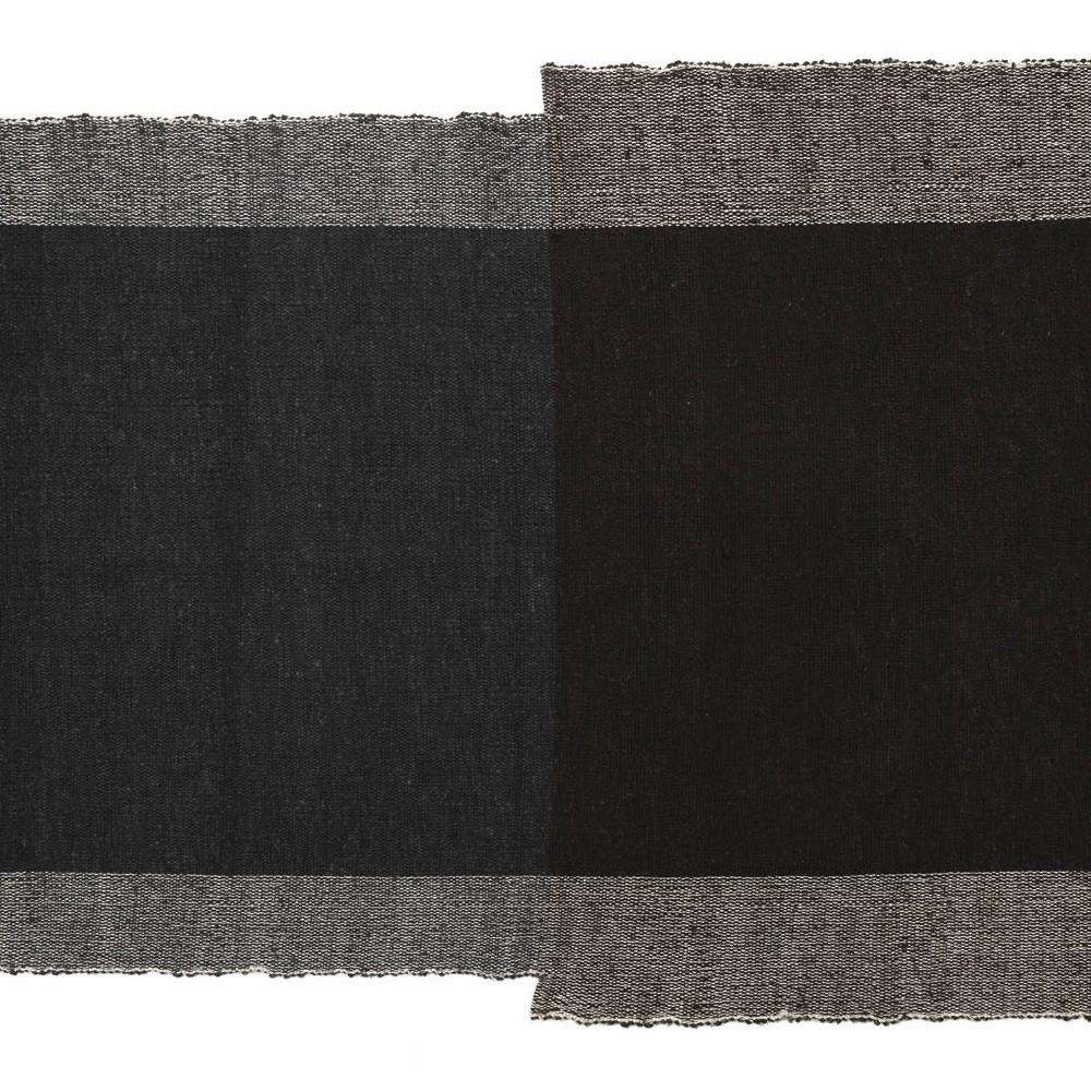 Nobsa vloerkleed S grijs / bruin ames