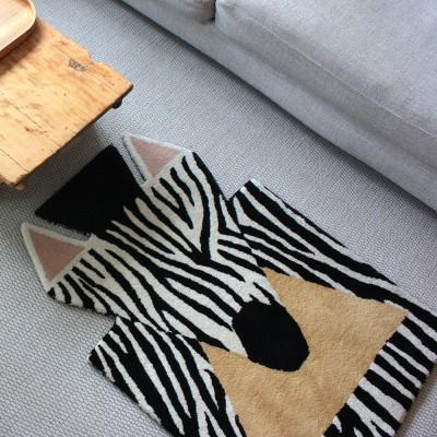 Tappeto zebra
