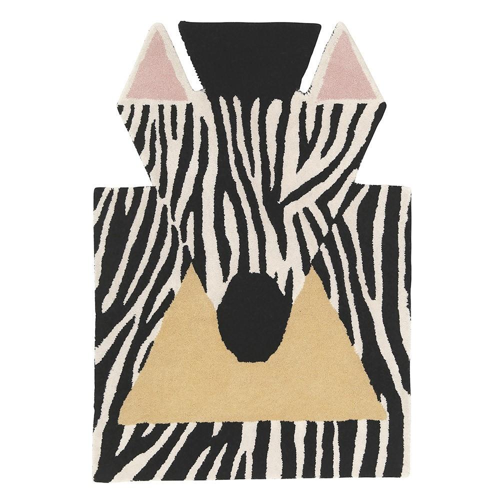 Zebra vloerkleed EO