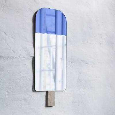 Specchio gelato blu oceano