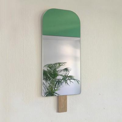 Specchio gelato verde esotico