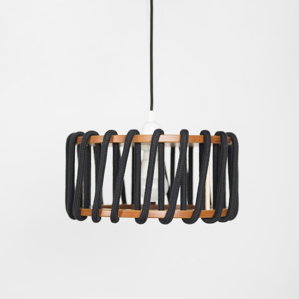 Macaron hanglamp zwart S Emko