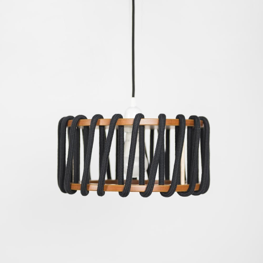 Macaron lamp black S Emko