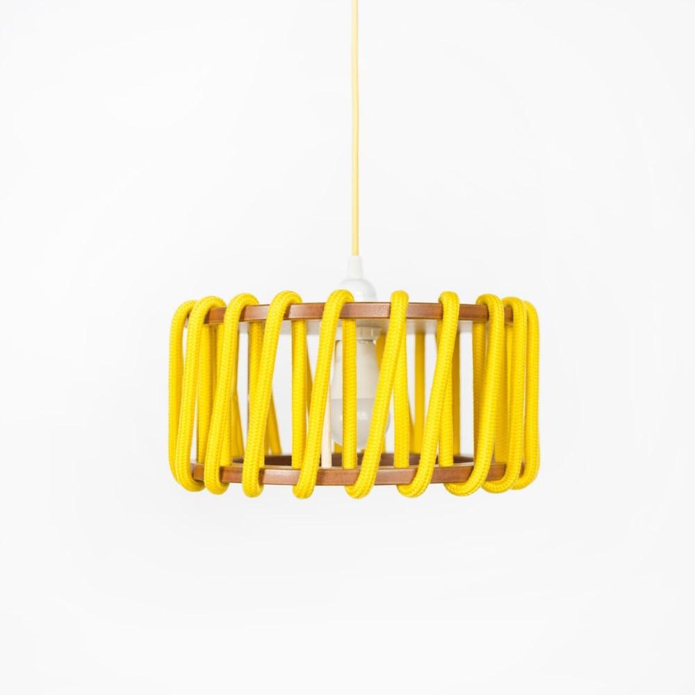 Macaron lamp yellow S Emko