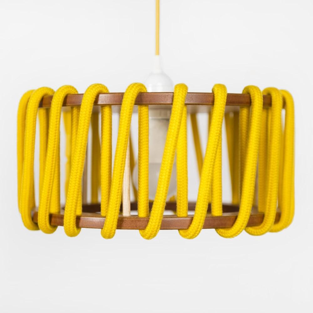 Suspension Macaron jaune S Emko