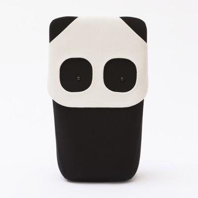 Cuscino e giocattolo Panda