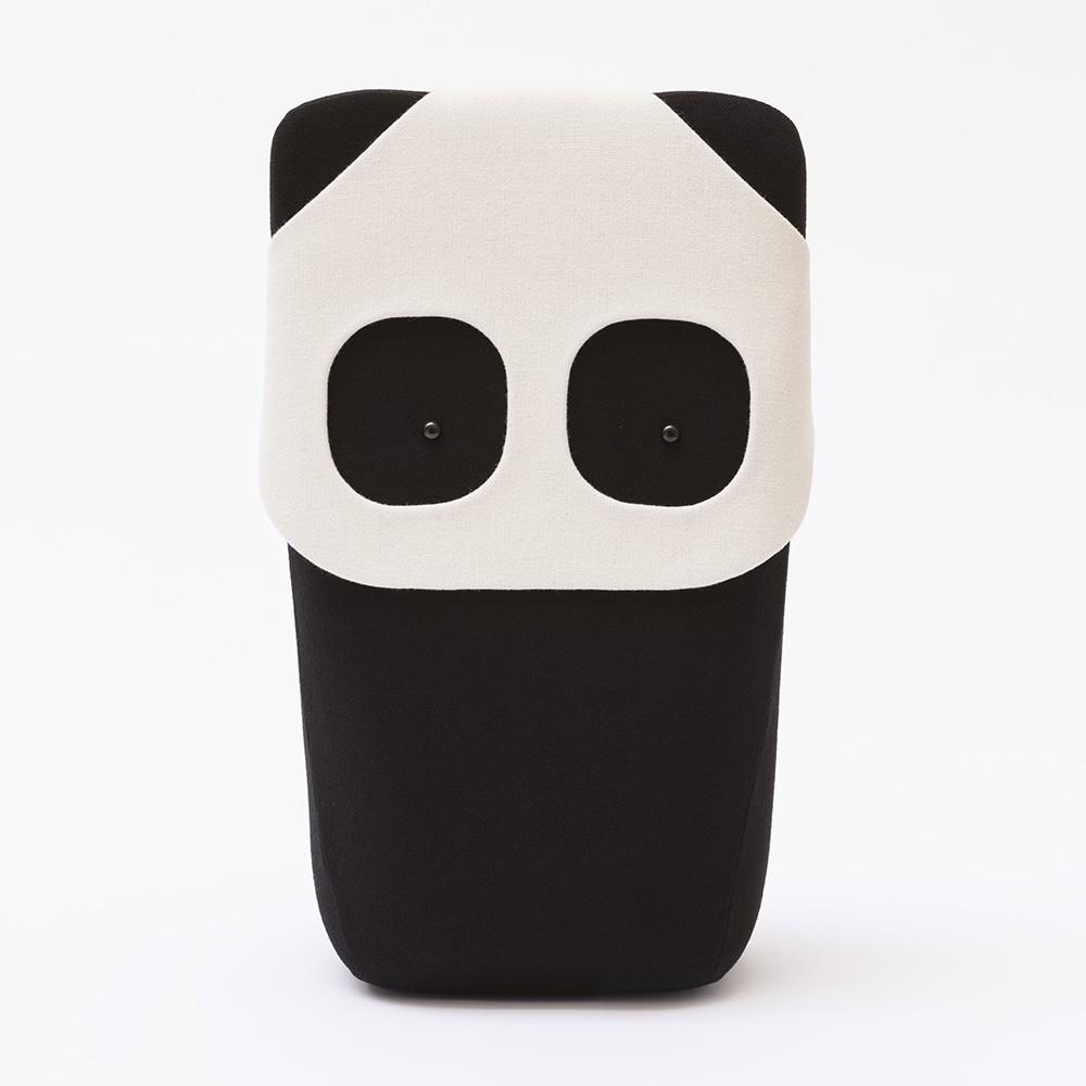 Cuscino e giocattolo Panda EO