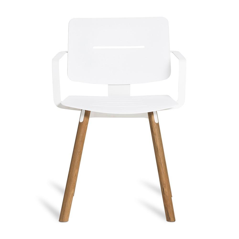 Coco armchair white Oasiq