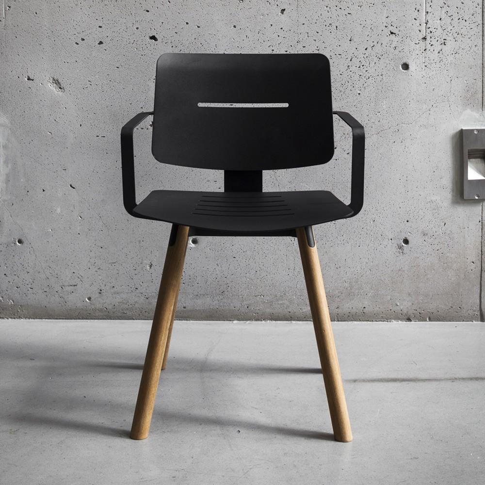 Coco fauteuil antraciet Oasiq