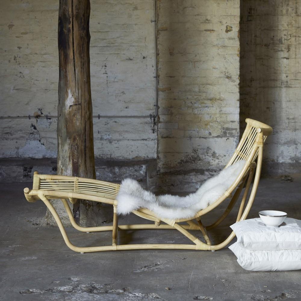 Sedia relax Michelangelo naturale Sika-Design
