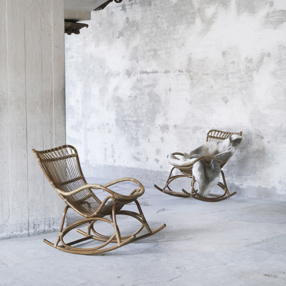 Antica sedia a dondolo Monet Sika-Design