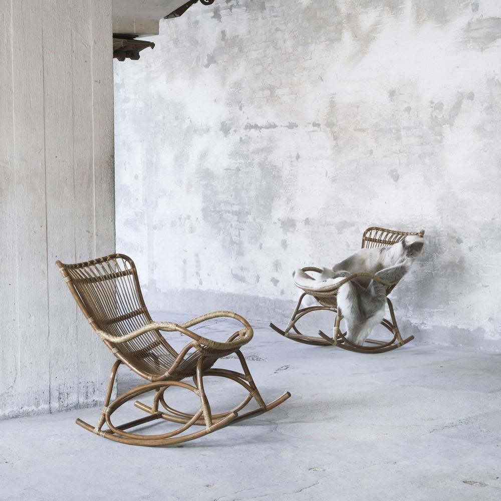 Rocking chair Monet antique Sika-Design