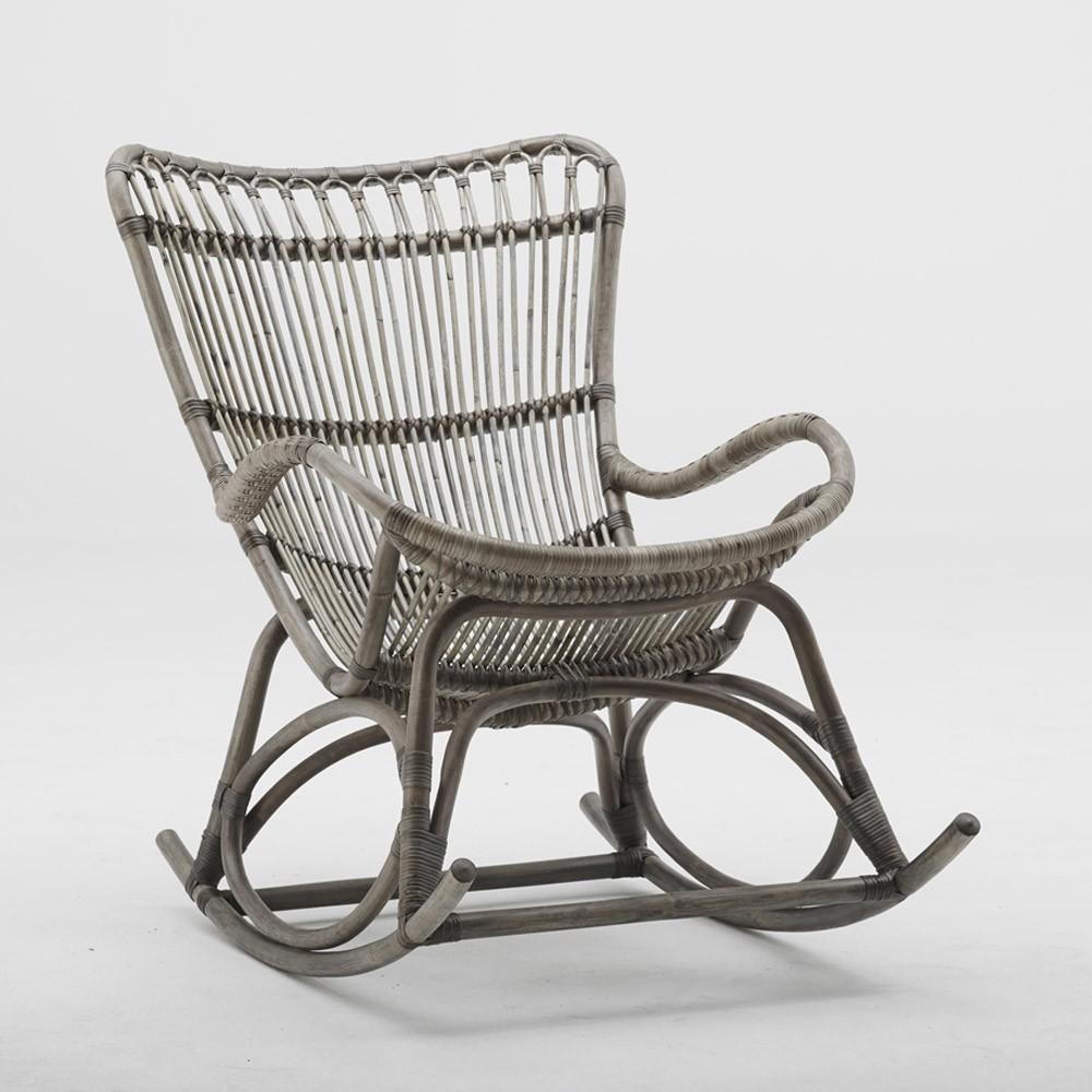 Rocking chair Monet taupe Sika-Design