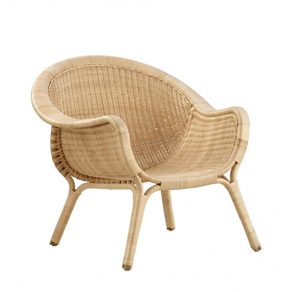 Fauteuil Madame naturel Sika-Design
