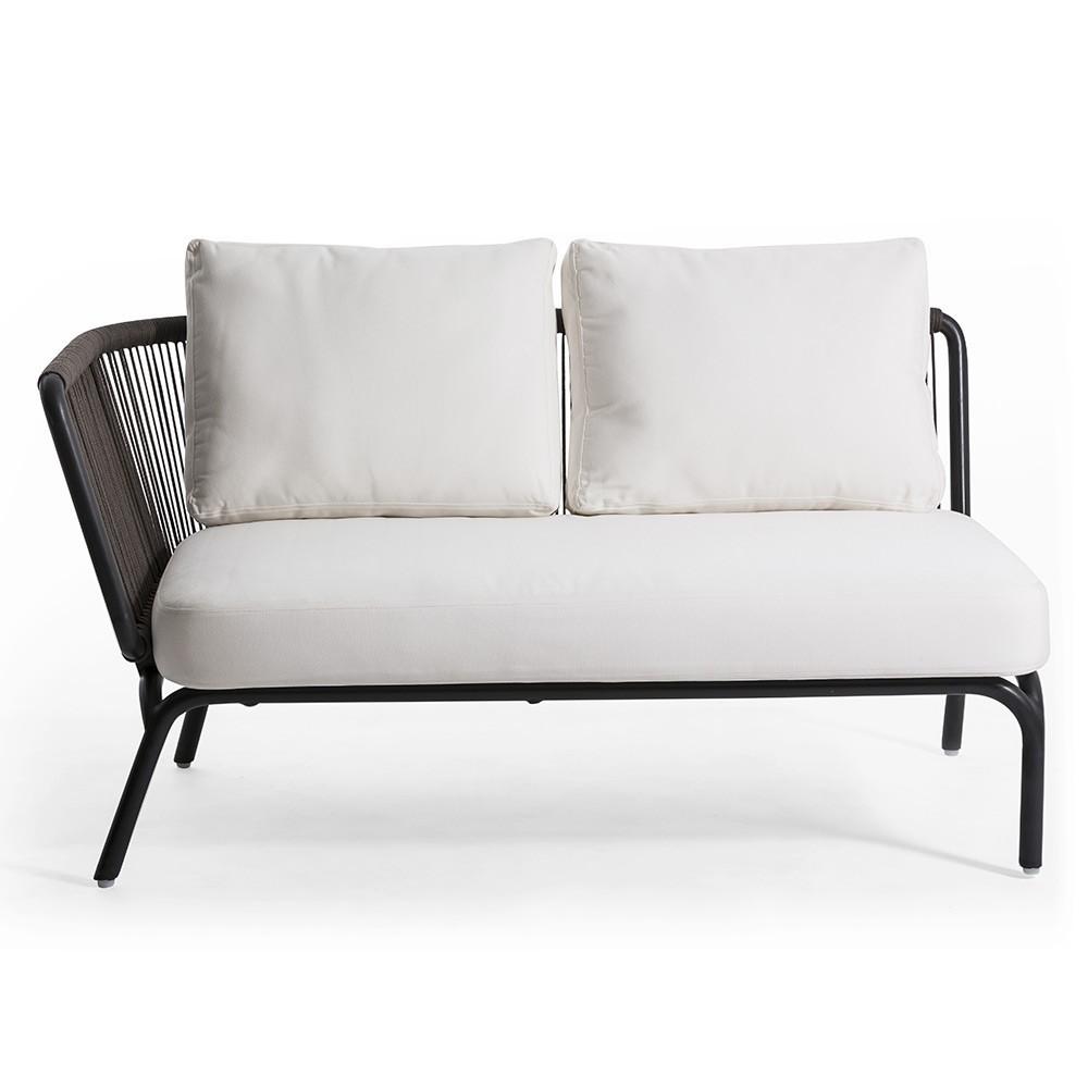 Canapé d'angle 2 places Yland Oasiq