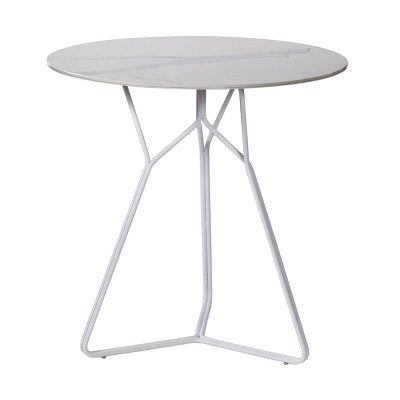 Table Serac 72 cm blanc