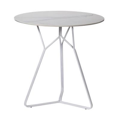Table Serac 72 cm blanc