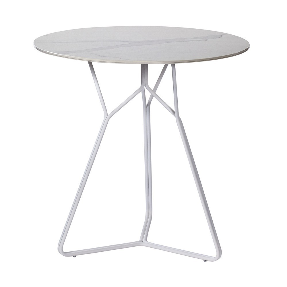 Serac table 72 cm white Oasiq