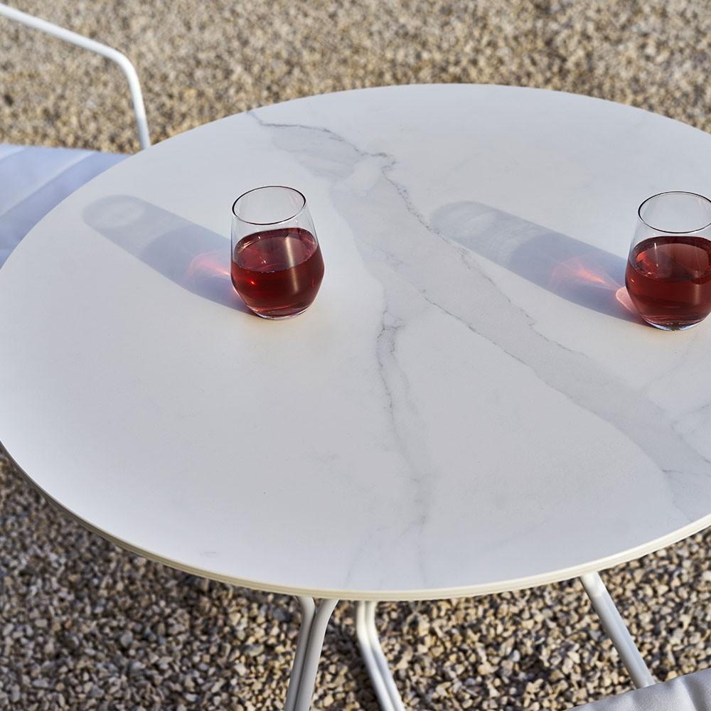 Tavolo Serac 72 cm bianco Oasiq
