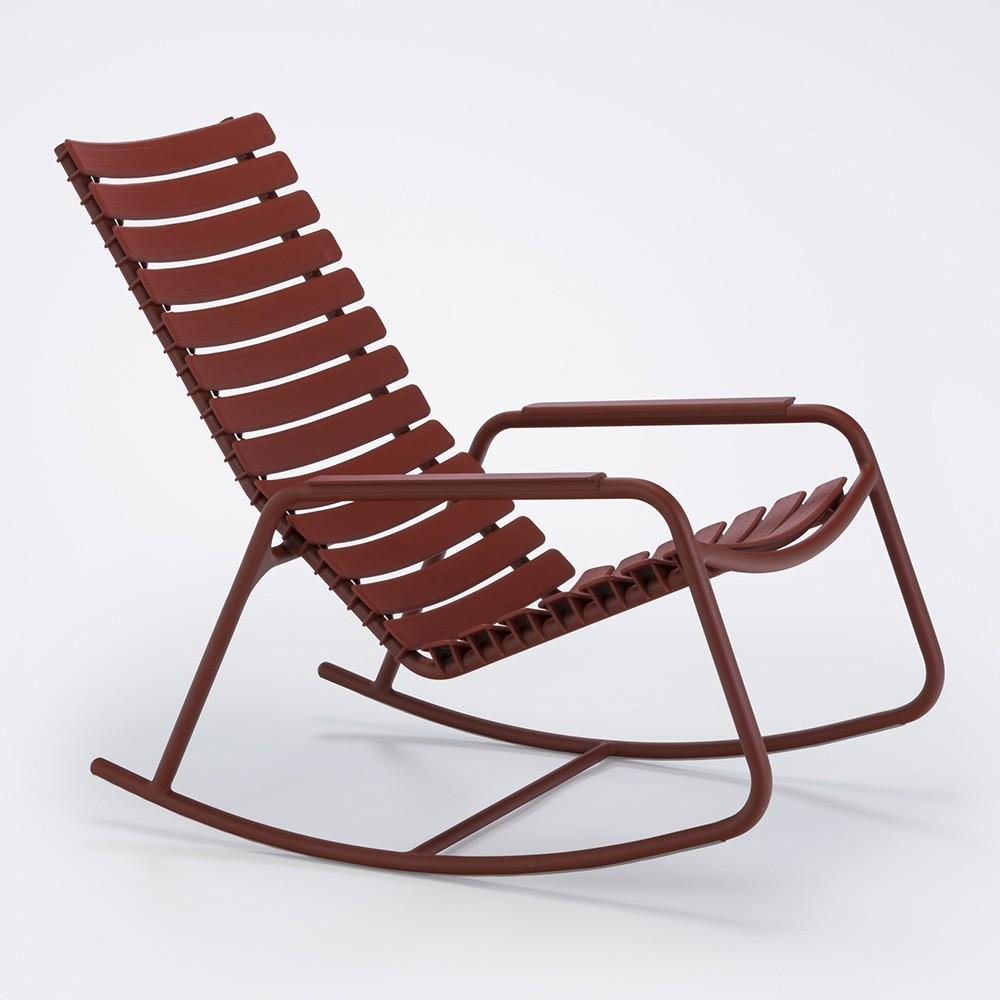 Rocking chair Clips monochrome paprika Houe