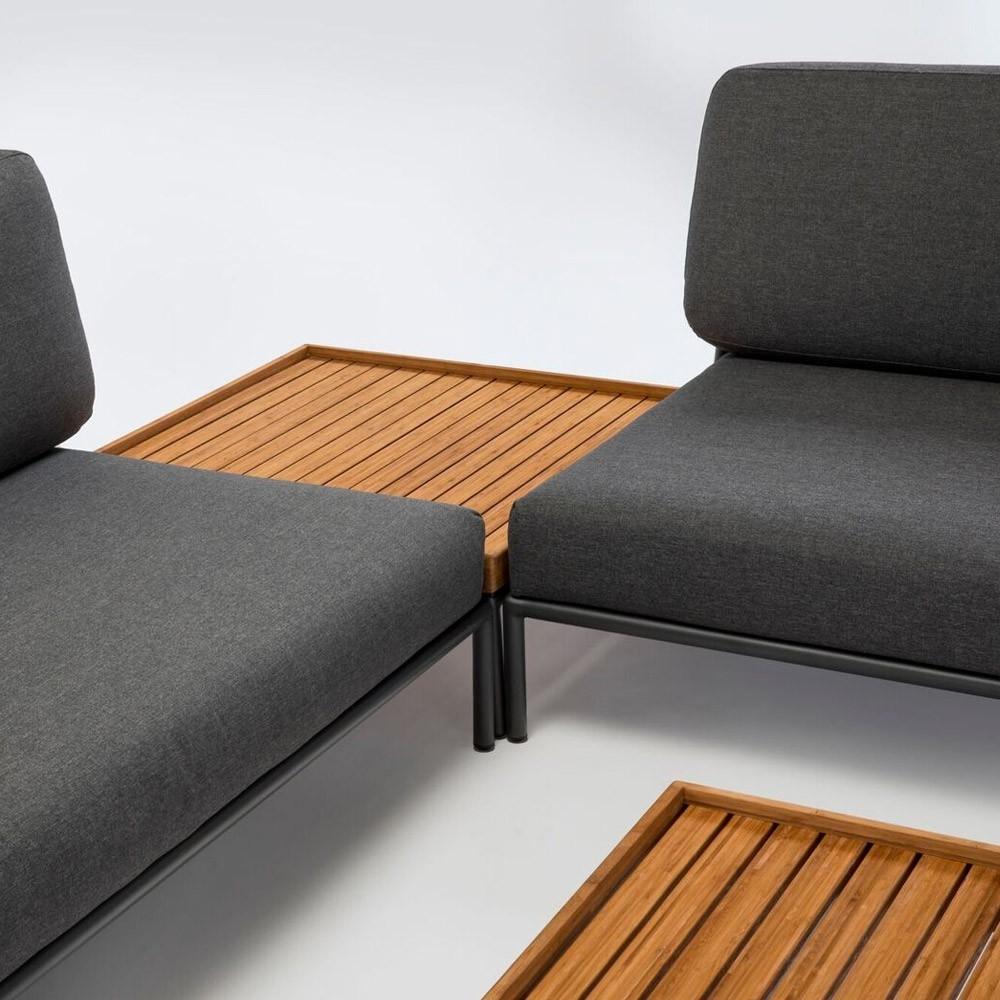 Level lounge sofa dark grey Houe