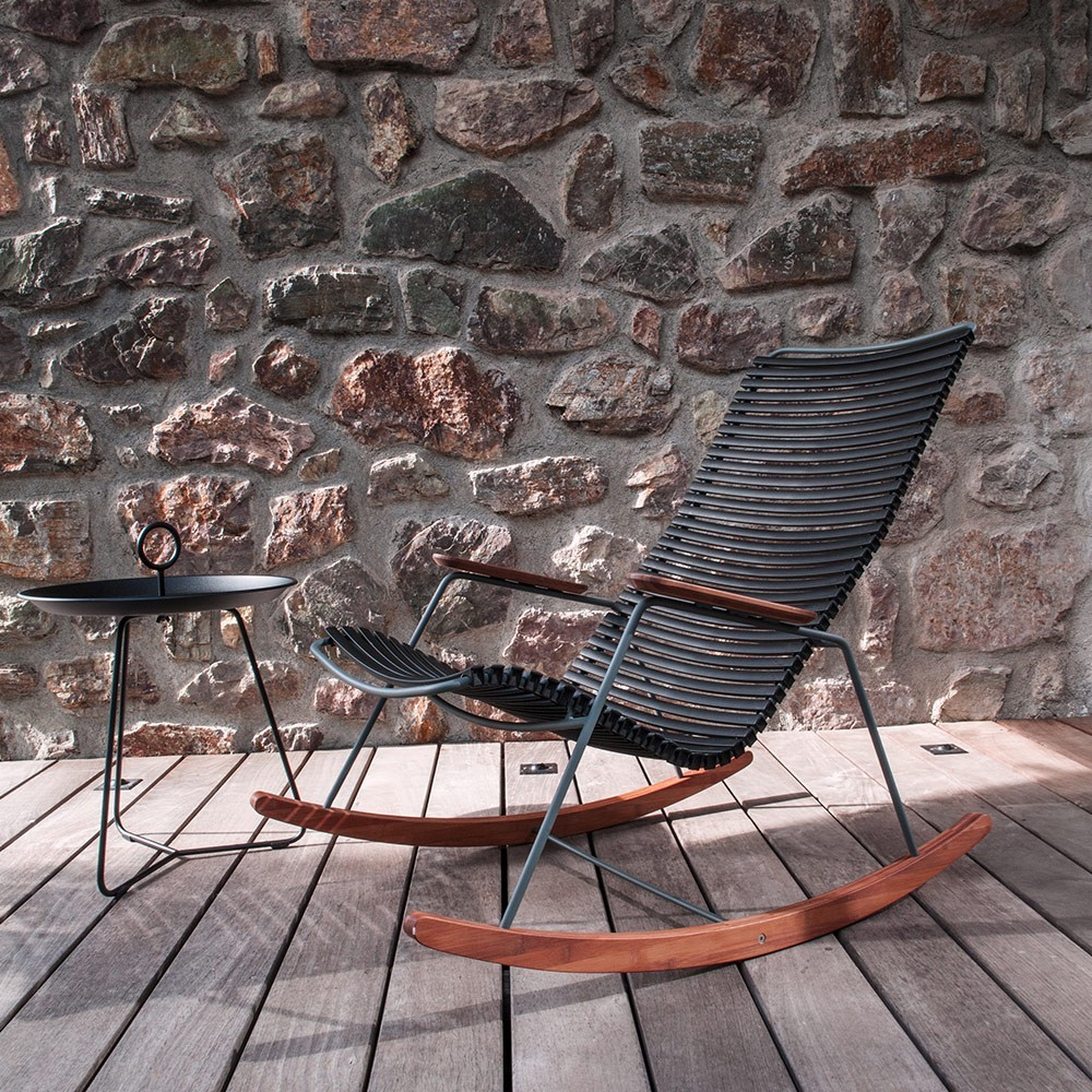 Rocking chair Click black Houe