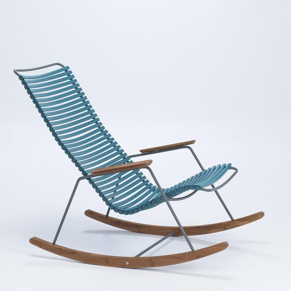 Rocking chair Click blue petrol Houe
