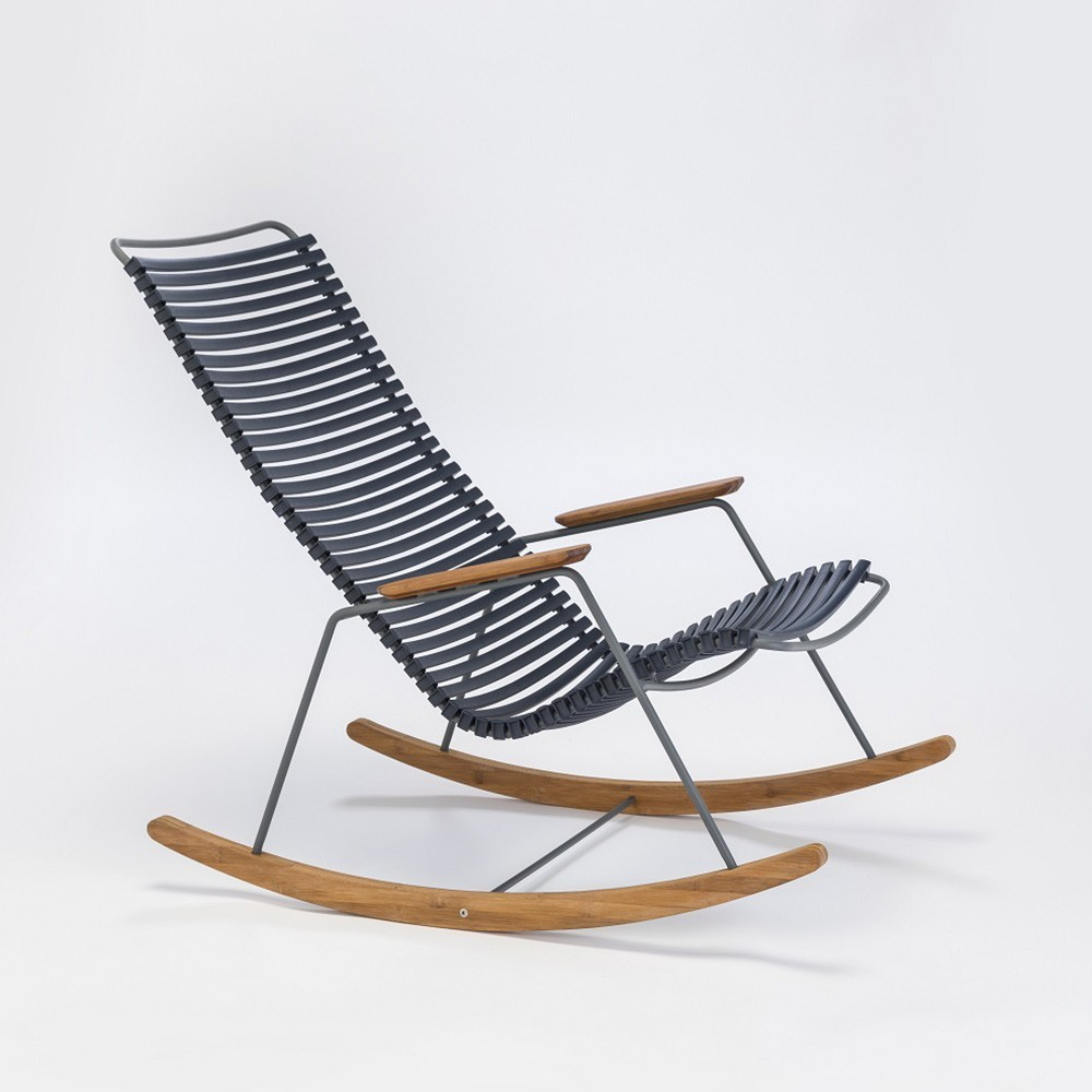 Rocking chair Click dark blue Houe