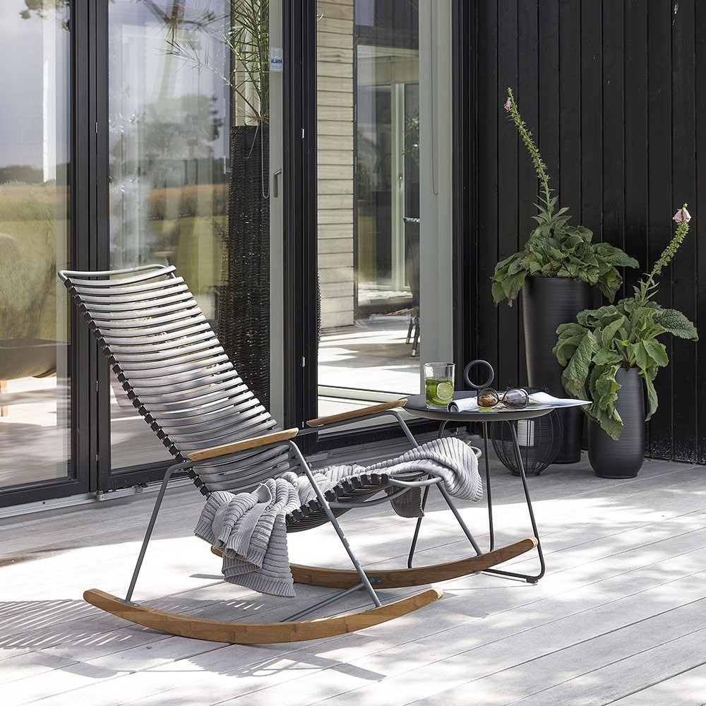 Rocking chair Click bleu foncé Houe