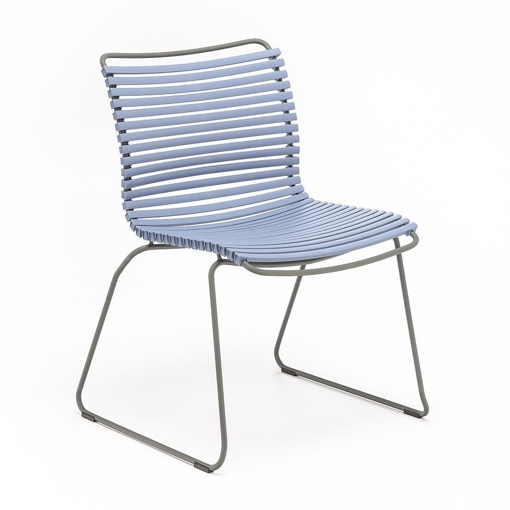 Clicca sedia piccione blu Houe