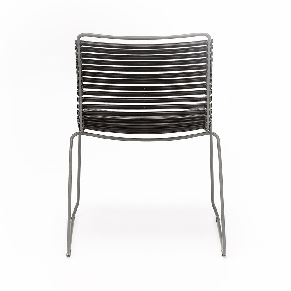 Click stoel stoffig groen Houe
