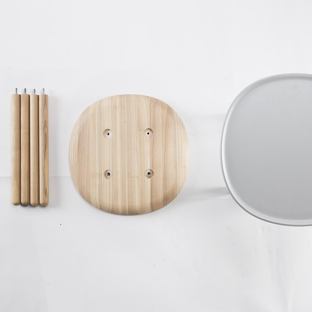 Tavolino Naive M in frassino naturale Emko