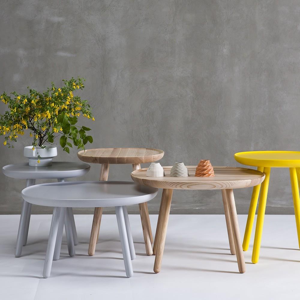 Tavolino Naive S in frassino naturale Emko