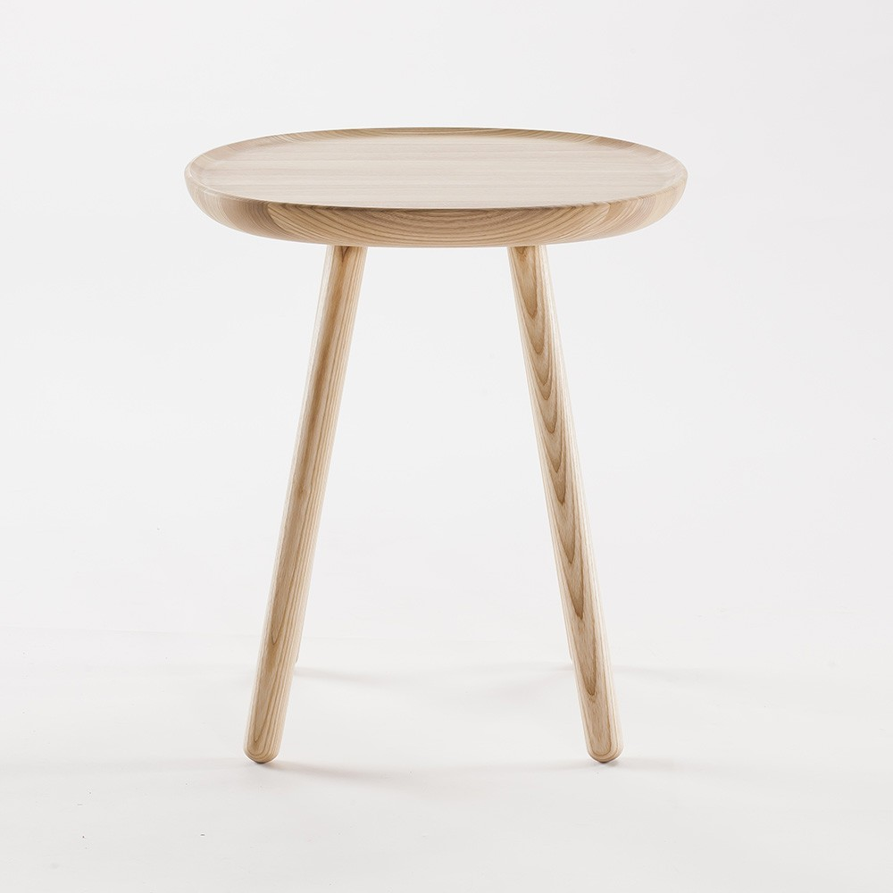 Naive side table S natural ash Emko