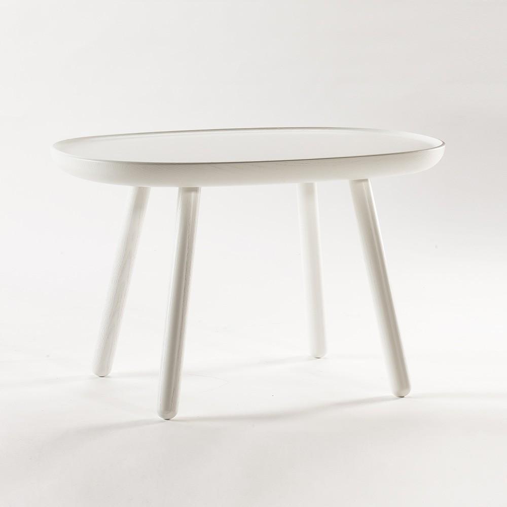 Naive side table M white Emko