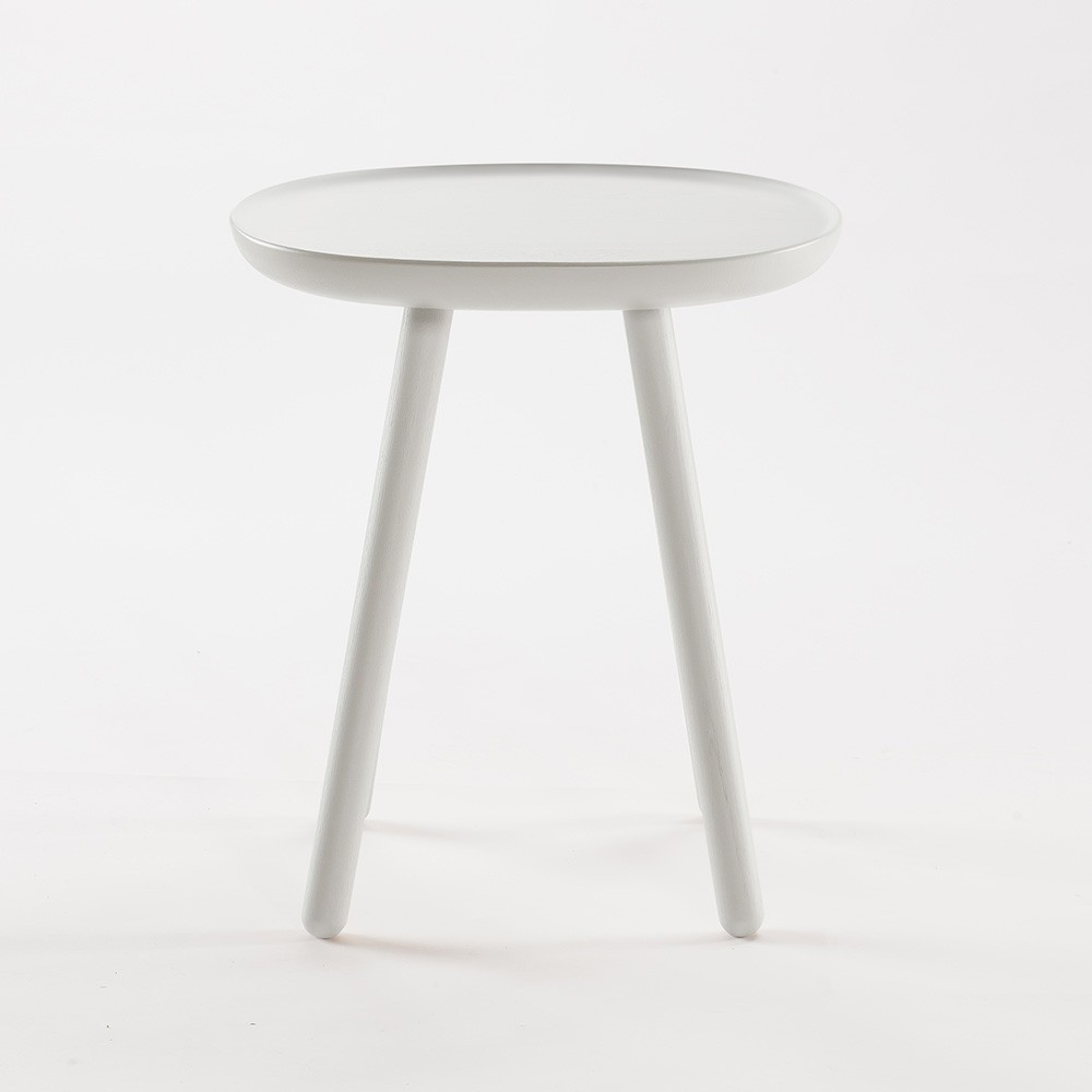 Naive side table S white Emko