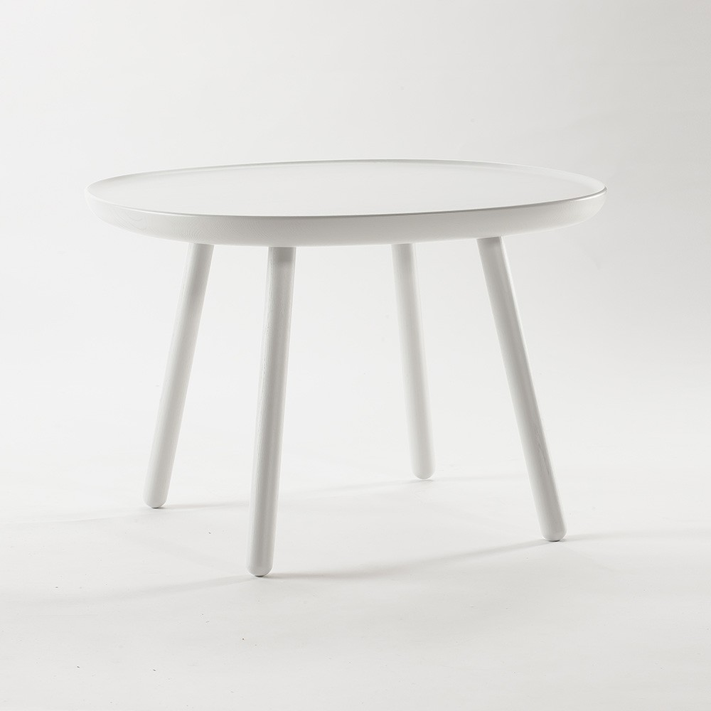 Table d'appoint Naive L blanc Emko